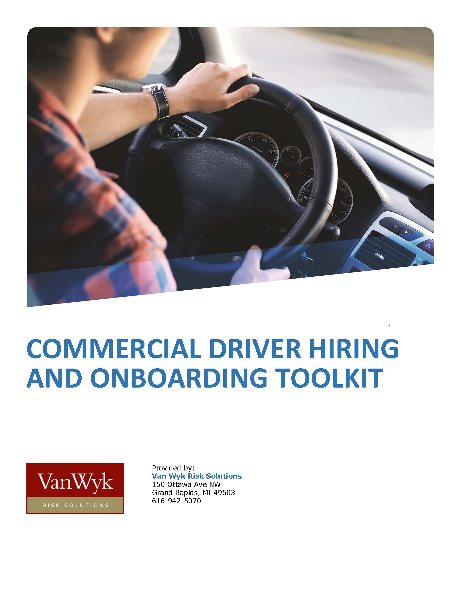 Commercial Driver Hiring and Onboarding Toolkit