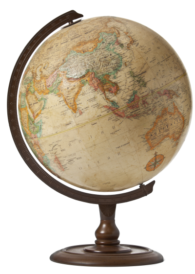 Globe - transparent background