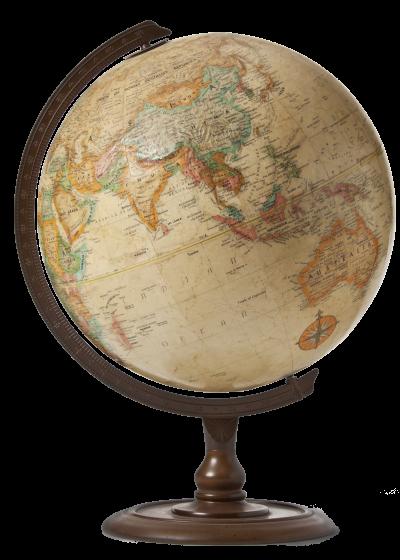 Globe - transparent background